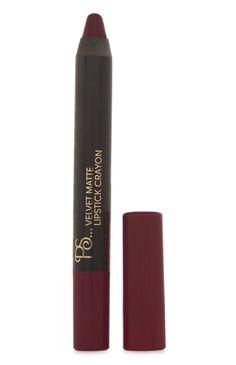 Primark - Velvet Matte Lipstick Crayon In Maroon Crayon Lipstick, Velvet Lipstick, Lipstick Art, Dark Lipstick, Velvet Matte, Lipsticks, Maroon Lips, Purple Lips, Lidl