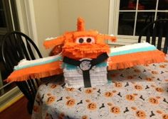 Disney Planes Piñata - Dusty Crophopper  Email pinatasplus@gmail.com for your own custom made piñata! Or shop Etsy at https://www.etsy.com/listing/171200001/disney-planes-custom-pinata?ref=listing-shop-header-1