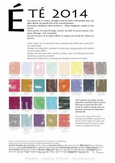 spring summer 2014 color trends for universal colors by design