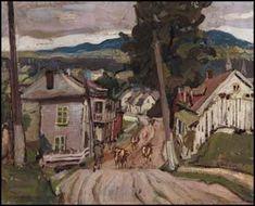 Baie-Saint-Paul, PQ by Arthur Lismer