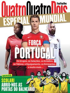 QuatroQuatroDois - FourFourTwo Portugal Portuguese Magazine - Buy, Subscribe, Download and Read QuatroQuatroDois - FourFourTwo Portugal on your iPad, iPhone, iPod Touch, Android and on the web only through Magzter