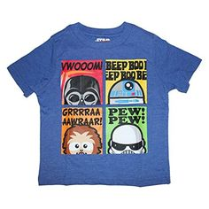 Disney Star Wars Little Boys Character Shirt 2T5T 2T Royal Heather >>> Check this awesome product by going to the link at the image.