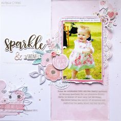 Sparkle & Shine - Scrap The Girls December 2016 Mood Board
