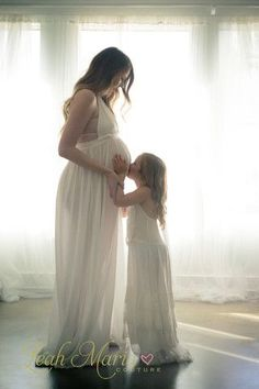"The ""Willow"" Ivory Dress or Maternity Gown"