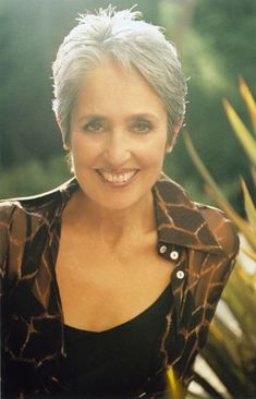 "Joan Baez ~ ""Joan Chandos Baez (born January 9, 1941 as Joan Chandos Báez) is an American folk singer, songwriter, musician and a prominent activist in the fields of human rights, peace and environmental justice. Baez has a distinctive vocal style, with a strong vibrato. Her recordings include many topical songs and material dealing with social issues. Baez began her career performing in coffeehouses in Boston and Cambridge, and rose to fame as an unbilled performer at the 1959 Newport…"