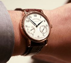 A. Lange & Sohne 1815 Up/Down Watch hands-on