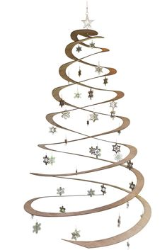 'Sprung' Christmas Tree by Zev Bianchi