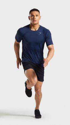 814df5f5 Gymshark   Official Store. The Hyper Sport Short Sleeve T-Shirt, Sapphire  Blue.