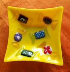 Candy Bowl from Fused Glass