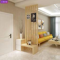 House Interior, Living Room Decor, Home Living Room, Home Room Design, Interior, Hall Decor, Living Room Partition Design, Hall Cabinet, Room