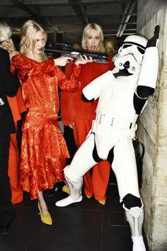 Preen AW14-15 Fashion Show London Backstage | Sonny Vandevelde
