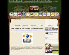 http://www.tvcolombiaenvivo.com/2012/07/canal-caracol-tv-en-vivo-senal-en.html | Ver Canal Caracol en vivo - Este es un buen sitio para ver Caracol Television en Internet, que lo disfruten