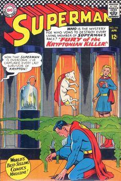 Superman 195 Comic Cover Hi-Res