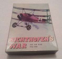Richthofen's War By Avalon Hill Unpunched.