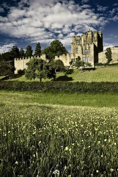 The Bothal Castle in Northumberland, England.