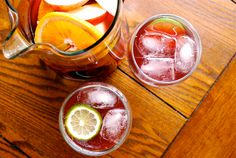 Virgin Sangria by Lacey Stevens-Baier, a sweet pea chef