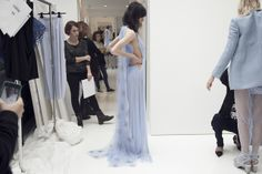BEHIND THE SCENES AT VIONNET Lilac dreaming on the last day in...
