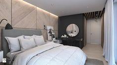 Dom w Warszawie - Średnia sypialnia małżeńska - zdjęcie od A2 STUDIO pracownia architektury