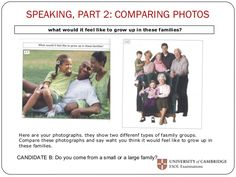 paper-5-speaking-part-2-9-638 – i-connect English Exam, Picture Description, Grade 1, Middle School, Growing Up, Things To Think About, Teaching, Activities, Feelings