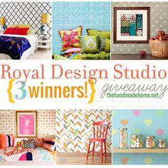 royal design studio : a big fat giveaway