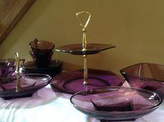 Vintage Purple Hazel Atlas Moroccan Amethyst by AuntieLillians