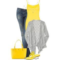 Yellow Bag & Shoes