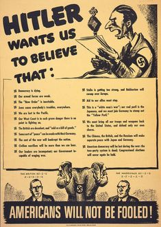 LEAVE HITLER TO US SONNY British WW2 Propaganda Poster 250gsm A3