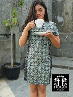 Dress Batik Cap Pekalongan Indonesia