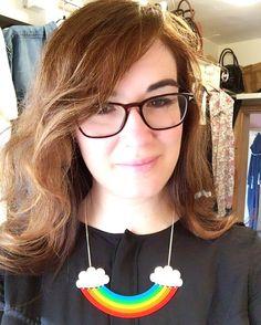 Rainbows and good hair days.  #tattydevine #mytattydevine #classiccollection #rainbow #goodhairdays #Norwich #Norfolk by bellestarblue - Pinned by @FancyAsMilly on instagram -