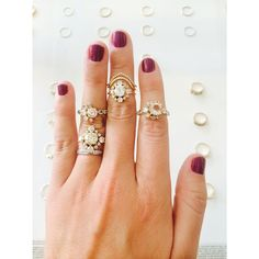 Stunning Mociun engagement rings