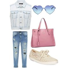 Untitled #11 by ellenks on Polyvore featuring polyvore, fashion, style, Forever New, Keds and Wildfox
