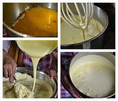 Indonesian Medan Food: Lapis Legit Prune / Kue Spekkoek (Decadent Layered Cake with Prune) Pandan Chiffon Cake, Lapis Legit, Cake Recipes, Medan, Deserts, Food And Drink, Baking, Ethnic Recipes, Cakes