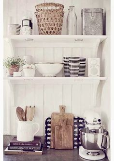 fresh kitchen styling...