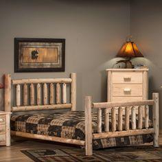 Lakeland Cedar Log Bed