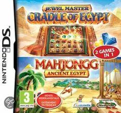 Cradle Of Egypt/Mahjong 2 ewel Master: Cradle of Egypt is een puzzelspel dat speciaal is ontworpen voor de Nintendo DS. In Jewel Master: Cradle of Egypt is het de bedoeling om het in verval geraakte oude Egypte te herbouwen.