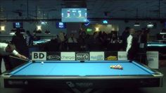 And we're back live from the World Pool Series in New York!