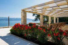 Hotel Lemongarden, Brač: silent flow - LIFESTYLEHOTELS Croatian Islands, Paradise Garden, Old Stone, Fishing Villages, Flow, Pergola, Tropical, Outdoor Structures, Building