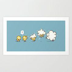 Microwavolution  Art Print by Terry Fan - $18.00