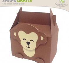 FREE DIY 3D cut files » Shape 23: Caixinha Macaco by Nilmara Quintela - from…
