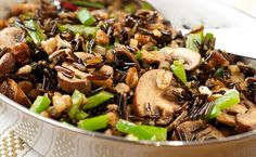 Black Walnut Wild Rice- Serve a stand out dish full of wild and distinct flavor including wild rice and robust black walnuts.