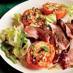 Broiled Parmesan Tomatoes | CookingLight.com #myplate #veggies #fruit #dairy