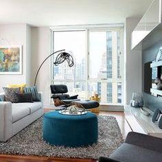 interior design for small condo - Small ondo Interior Design Ideas - approxate size for V wall ...