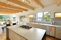 Incredible kitchen in this 5Star Built Green Dwell Development home in Columbia City http://dwelldevelopment.net/columbia-city-2-modern-dwell-homes-5031-5033-43rd-ave-s/
