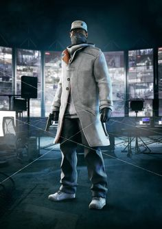Watch Dogs artwork - Aiden Pearce