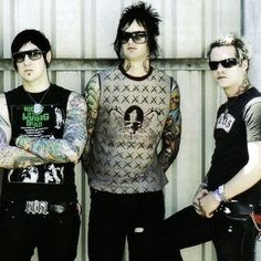 Zacky & The Rev & Johnny #AvengedSevenfold #foREVer