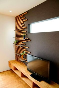 Home Room Design, Home Interior Design, Living Room Designs, Interior Decorating, Bedroom Wall Designs, Diy Interior, Woodworking Projects, Woodworking Plans, Woodworking Techniques