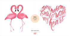 FREEprintable greetings cards by Teresa Watts for Side Project. Perfect for Valentine's!