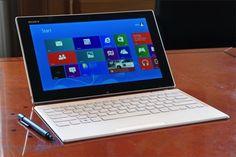 ASonyanunciou o híbrido de tablet e notebook naIFA2013. Com codinome deSony Vaio Tap 11, o aparelho é uma aposta para o mercado de portátil. O tablet opera com sistema Windows 8, e pode ser acoplado a um teclado sem fio via conector magnético. Segundo a fabricante, é o produto mais fino da cate