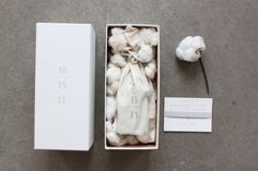 Understated Gray + White Wedding Invitations by Sideshow Press via Oh So Beautiful Paper (1)