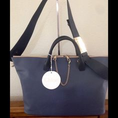 "Selling this Authentic CHLOE' Leather ""Baylee"" Convertible Bag on Poshmark! My username is: 4fairness. #shopmycloset #poshmark #fashion #shopping #style #forsale #Chloe #Handbags"